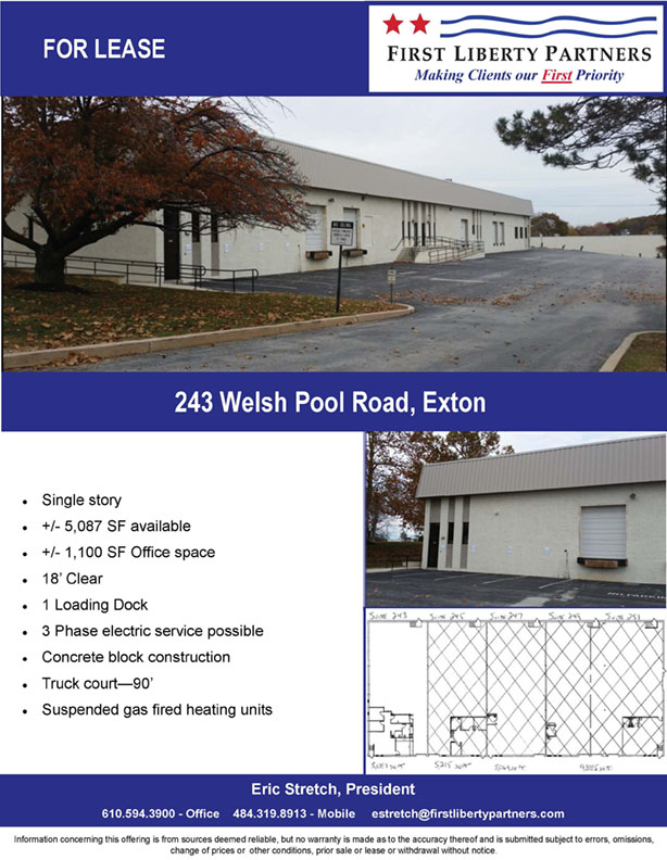 Flyer-243 Welsh Pool